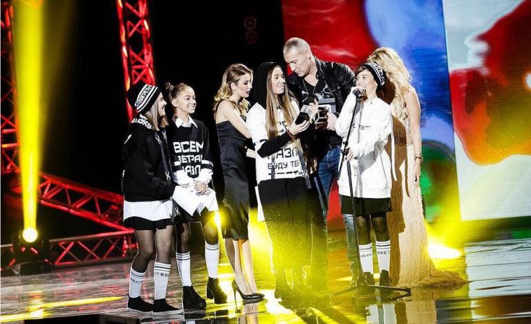 Церемония награждения Open Kids в номинации -Тинейджерский проект года- Реальной премии MUSICBOX 2016
