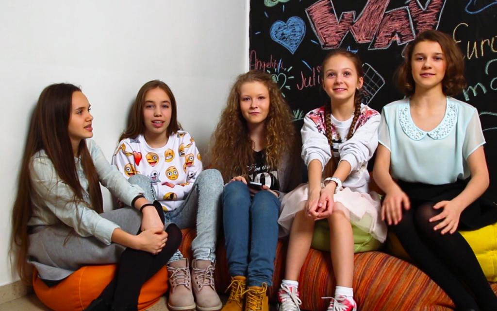 Участницы OPEN KIDS рассказывают о съемках клипа Milky Way - Open Art Studio